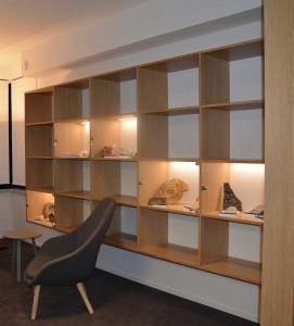 Rénovation – Headquarter Carmeuse - LLN - Accueil